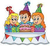 Birthday party Clipart Royalty Free. 95,342 birthday party clip art ...