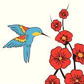 Clip Art Hummingbird Clip Art hummingbird clip art illustrations 1496 clipart eps moth
