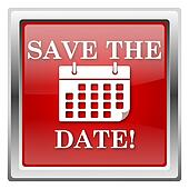 Save the date clipart