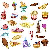 Junk food Clipart EPS Images. 11,159 junk food clip art ...