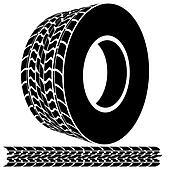 tire clip art vector graphics  tire eps clipart vector  stock illustrations