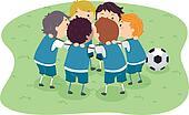Huddle Clip Art – Cliparts |Team Huddle Clipart