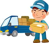 delivery driver clip art - photo #4